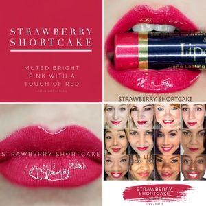 2/$30 Strawberry Shortcake Lipsense